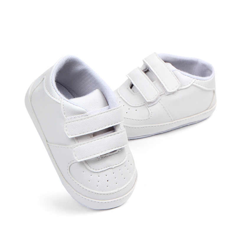 313c0d7d49011 Little Kids Shoes Newborn Toddler Boy Loafers PU Leather Hook-and-Loop  Infant Baby Sneakers Anti-skip Soft Sole Bebes Crib Shoes