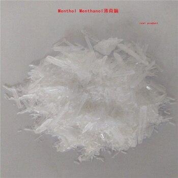 300 جرام/الحقيبة الطبية نقية الطبيعية 99.9% المنثول الميثانول الصلبة التوابل تطهير الحرارة إزالة السموم التوابل الصف المضافة