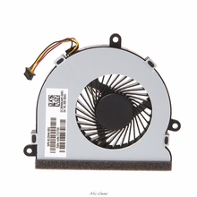 DC 5V 0.26A ноутбук кулер Процессор вентилятор охлаждения для HP 15-AC серии DC28000GAR0 SPS-813946-001 4-контактный Вентилятор охлаждения