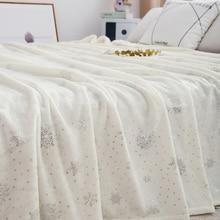 Miękkie grube ciepłe flanelowe narzuty na łóżka duży rozmiar domu dekoracyjne pościel 230*250CM narzuta koce w kratę
