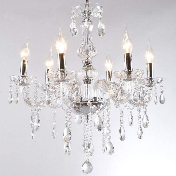 Niedrigen Preis 12 Farbe Wahl 5 Birne European Candle Kristall Kronleuchter Licht Decke Schlafzimmer Wohnzimmer