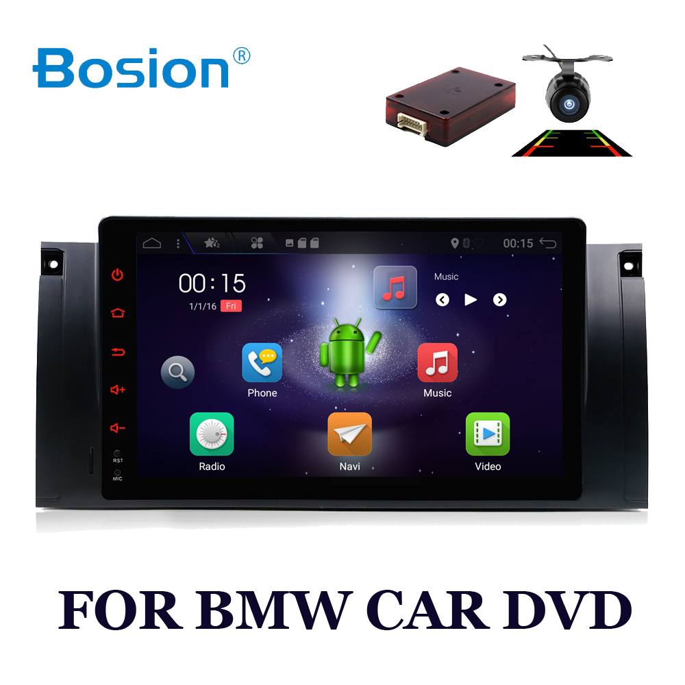 car multimedia 1 din Android 7.1 Car DVD Radio for BMW 5 Series E39 E53 M5 X5 BT WIFI FM/AM GPS Video Stereo 2GB RAM car stereo