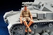 1/35 Schaal Ongeverfd Resin Figuur Dak Panzer GK figuur