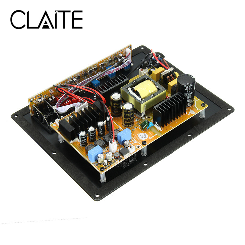 CLAITE TAS5630B 280W Digital HIFI Subwoofer Amplifier Board High Power Audio Amplifier new assembly high power 280w 1 0 digital hifi subwoofer amplifier board active amplifier board home amplifier for subwoofer