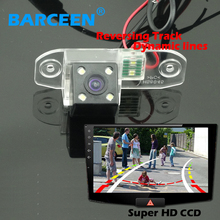 car rearview camera special use for VOLVO S80L /S80/S40L/S40 wire with the waterproof function 170 angle and  Dynamic track line