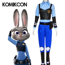 Zootopia Judy Hopps Cosplay Costume Adults Women Cute Rabbit Halloween Party Costumes Props Accessories Full Set