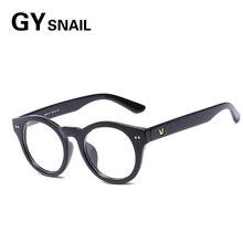 GY vintage Sun glasses Fashion quality PC blue film flat light
