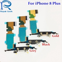 1pcs New Charger Charging Port Dock USB Connector Flex Cable Replacement For iPhone 8 Plus 5.5 8+ Flex Ribbon Repair Parts