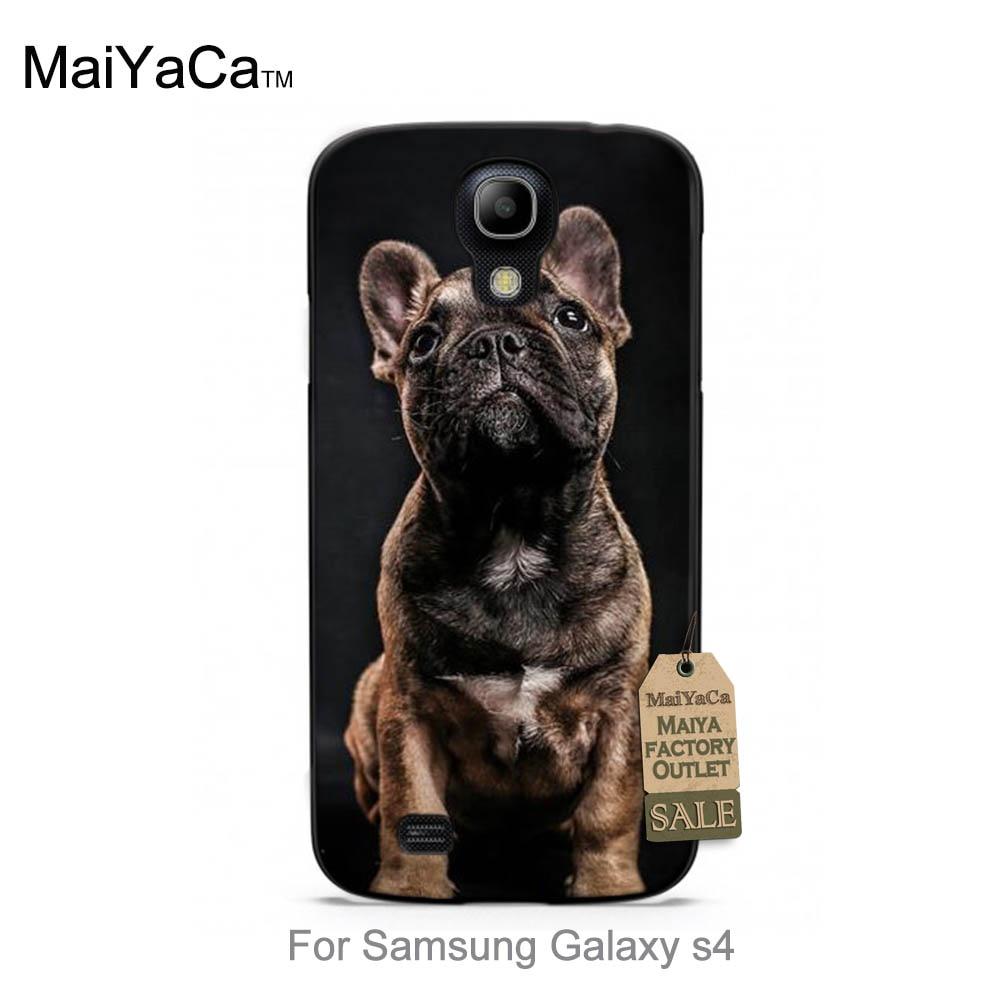 MaiYaCa Bulldog frances cute dog New Arrival Hot Sale Fashion phone case cover For Samsung Galaxy s4 i9500 cases
