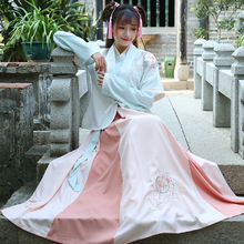 2018 new luxury women cosplay stage chiffon costume dance dress clothes fairy princess suit hanfu queen chinese ancient