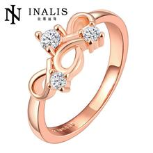 R703-A Wholesale High Quality Nickle Free Antiallergic New Fashion Jewelry  GoldPlated Ring