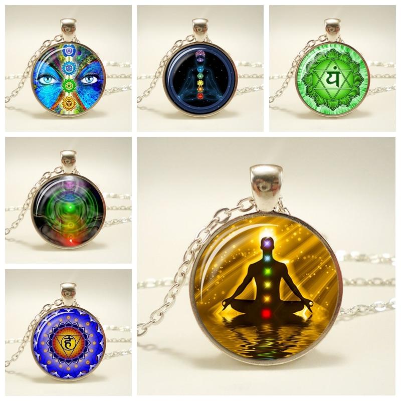 Buddha Yoga Meditation Healing Chakra Mandala Stones Crystals Rhinestone India