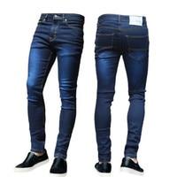 HIRIGIN Hot Newest USA Mens Skinny Jeans Slim Fit Stretch Denim Distress Frayed Biker Casual Jeans