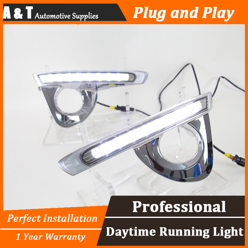 car styling For Toyota crown LED DRL For crown led fog lamps daytime running light High brightness guide LED DRL for lexus rx gyl1 ggl15 agl10 450h awd 350 awd 2008 2013 car styling led fog lights high brightness fog lamps 1set