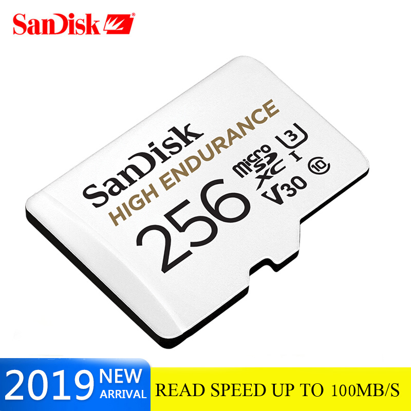 New Product SanDisk Memory Card Endurance Micro SD Card C10 V30 U3 4K 32g 64g 128g TF Cards For Dash Cam Home Video Monitoring