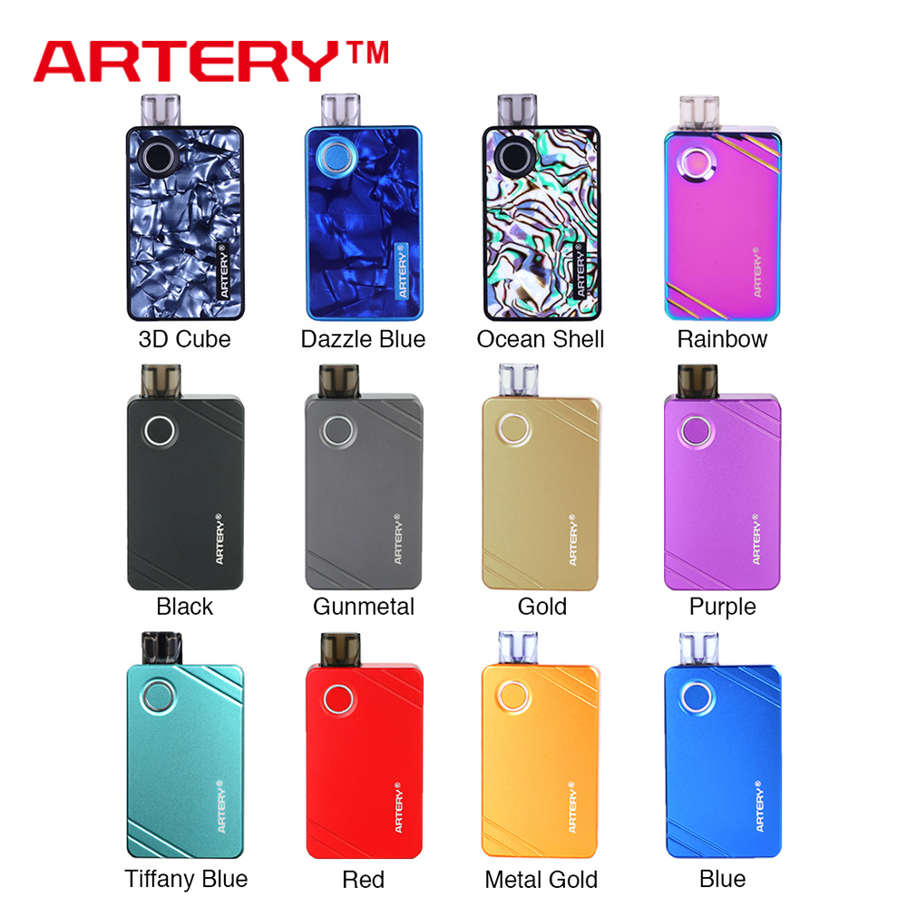 Original Artery PAL 2  Pod Vape Kit & Artery PAL II with 1000mAh Battery & 3ml/2ml Pod & Mesh Coil Pod System Vape Vs Nord KitOriginal Artery PAL 2  Pod Vape Kit & Artery PAL II with 1000mAh Battery & 3ml/2ml Pod & Mesh Coil Pod System Vape Vs Nord Kit