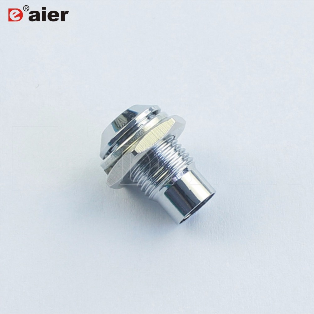 10PCS Metal Chrome Convex Type 5mm LED Holder Types Of Electric Lamp Holders