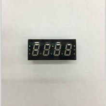 100pc אנודה משותף/קתודה משותפת 0.3 אינץ צינור דיגיטלי 4 ביטים צינור דיגיטלי led תצוגת 0.3 סנטימטרים אדום צינור דיגיטלי