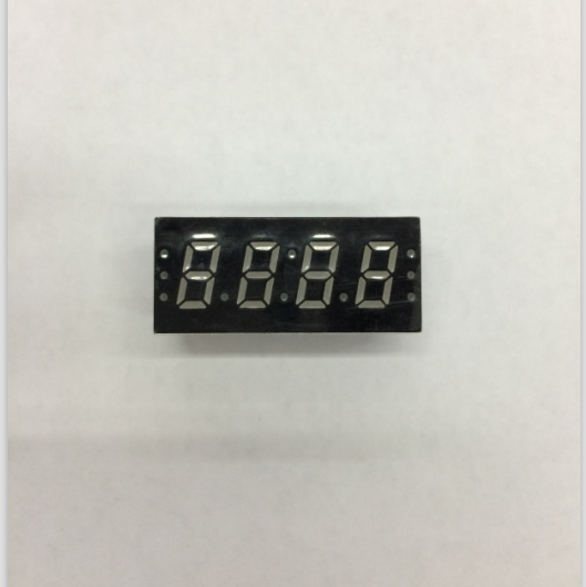 100pc Common Anode/ Common Cathode 0.3 Inch Digital Tube 4 Bits Digital Tube Led Display 0.3inches Red Digital Tube