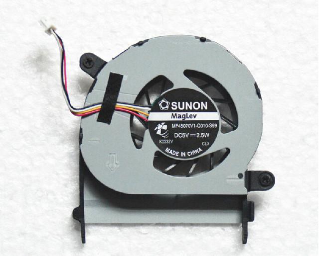 Nuevo ventilador original Del Ordenador Portátil para Acer Aspire 1410 1410 t 1810 1810 t 1810TZ MF45070V1-Q010-S99 CPU cooling Fan Envío libre