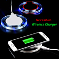 Transparent Moblie Phone Wireless Charger for Samsung Galaxy S7 Edge G935F Ultra Thin Wireless Power Bank for Galaxy S7 Edge