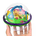 "3D Maze Ball Best Gift Independent toys for children Diameter 4.4"" Containing 100 Challenging Barriers Clorful Puzzle  Mase"