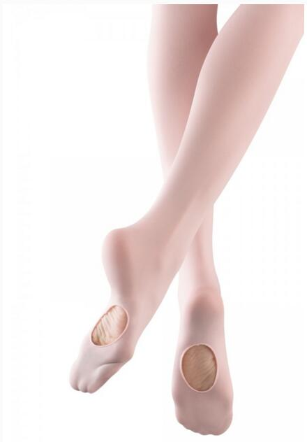 8c7805190 Hot Sale Adult Women Kids Girls Pink White Black Tan Soft Microfiber Footed  Convertible Ballet Tights With Plain Waistband