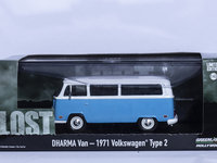 1/43 DHARMA Van 1971 Volkswagen Type 2 Lost Greenlight Die cast Car Model Collection Limited Edition