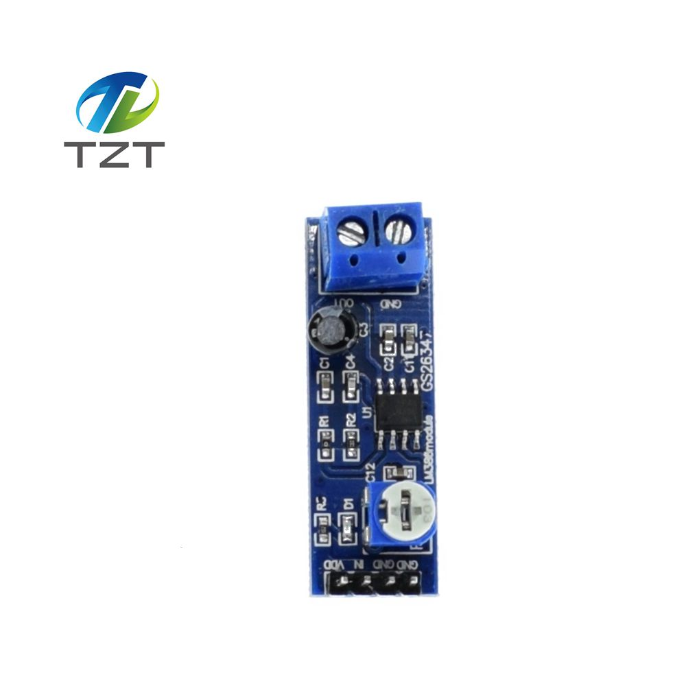 200 Times Gain 5v 12v Lm386 Audio Amplifier Module 10k Adjustable Working Operation Of Ic Resistance Multiplier Speaker Wire Holder In Integrated Circuits From Electronic