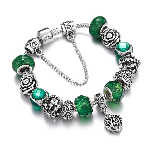 Silver Pendant Bracelets...