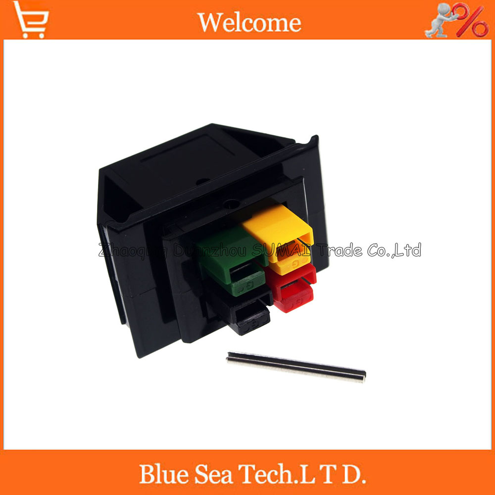 4 Pin 30A 600V 4Pin /Pole/Wire PCB Power Connector module Battery Plug with Pin for UPS forklift electrocar ect. Short type mikado temptation pole 600