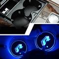 "2 шт./лот LED ""R"" кубок Каботажное Судно для Volkswagen VW Golf 6 GTI Scirocco passat B6 Touran Tiguan Jetta MK4 MK5 MK6 POLO CC"