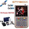 GT MEDIA/Freesat V8 Finder Meter DVB-S2/S2X Цифровой спутниковый Finder спутниковый измеритель высокой четкости Satfinder 1080P
