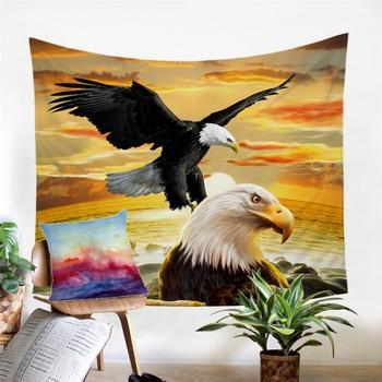 Adlerflug als Wand Deko Wandbehang