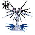 Construção de Metal MG ZGMF-X20A Strike Freedom Gundam Daban Hobby MB 1/100 Enigma Modelo de Robô montado crianças brinquedo Anime Figura de Ação