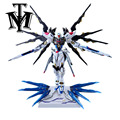 Daban Hobby ZGMF-X20A Metal Build MG Gundam Strike Freedom MB 1/100 Model Puzzle assembled Robot kids toy Anime Action Figure