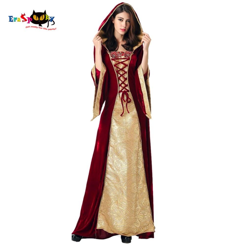 Medieval Kjole Kjole Kvinder Renæssance Kjole Prinsesse Dronning - Kostumer