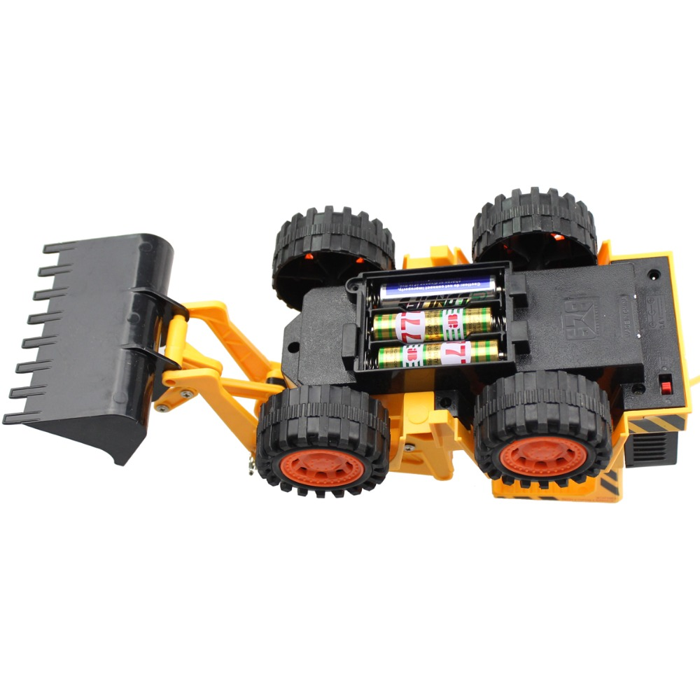 Rc Bulldozers Wireless 5 Channel Full Functional Front Loader Com Circuitdiagram Automotivecircuit Remotecontroltoycarcircuit Electric Remote Control Construction Tractork Engineering Toy In Cars From Toys