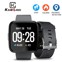 Купить с кэшбэком Smart Watch Women IPS Color Screen Heart Rate Monitor Pedometer Fitness Bracelet Activity Tracker Watch Men for Android IOS