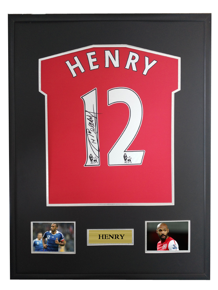 e2dc1f4d3 Detail Feedback Questions about Thierry Henry signed autographed ...
