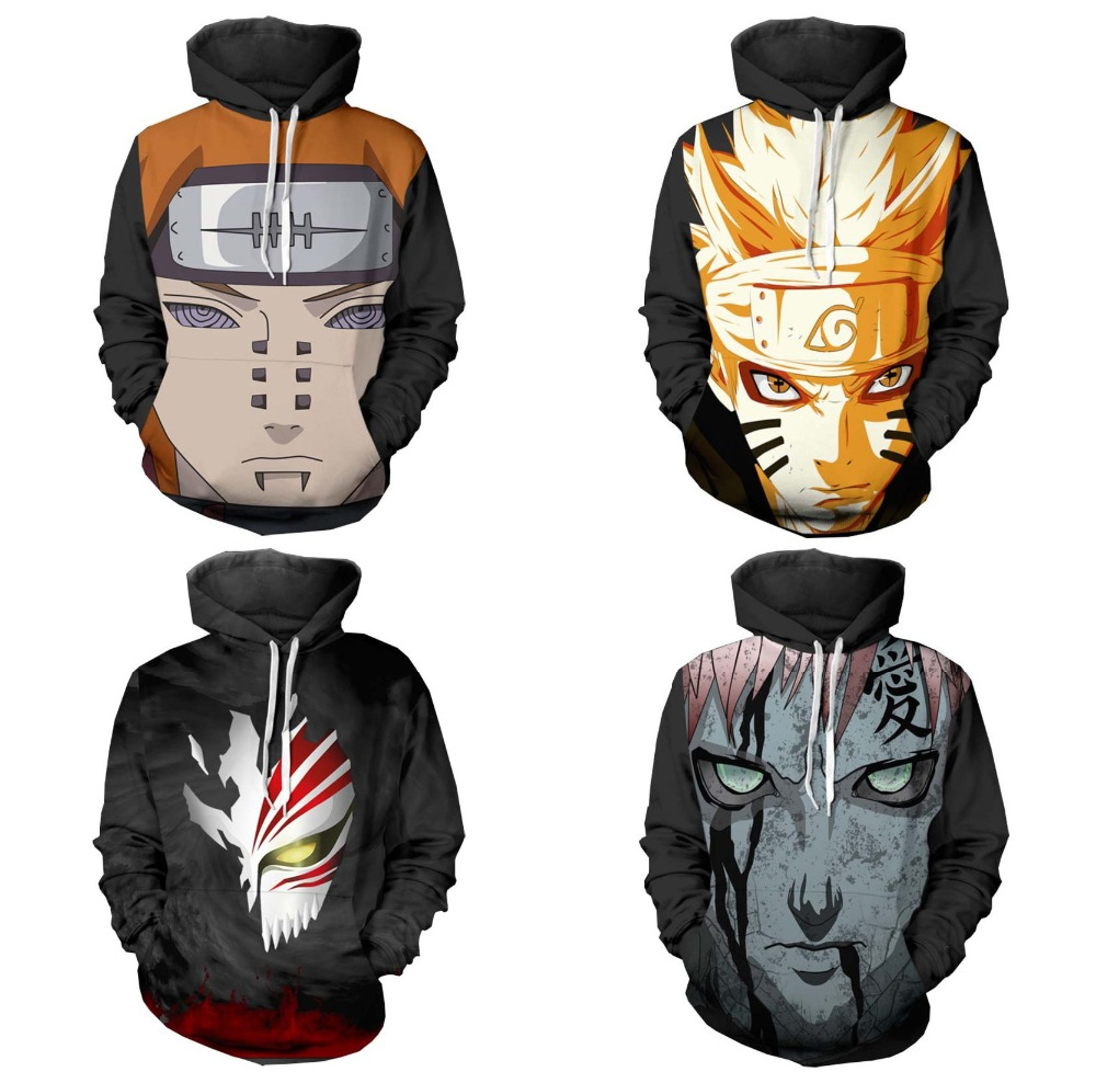 Hokage Uzumaki Naruto Hoodie Sweatshirt Cosplay Hot Sale 3D Kpop Hoodies Women Kawaii Harajuku Autumn Casual Long sleeve Jacket