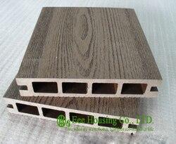 Holz-kunststoff-composite-bodenbeläge, außen WPC decking Für Balkon, einfache Installation und Umweltfreundlich