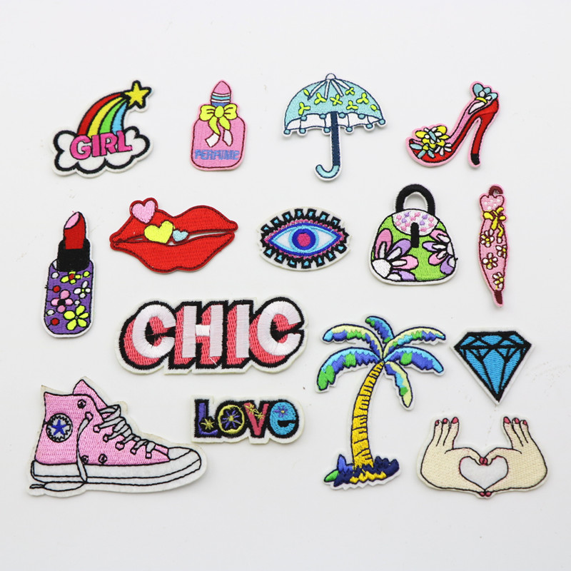 Online buy wholesale meisjes patches from china