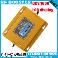 Wholesale RF DCS980 GSM DCS 1800MHZ 1Watt 27dbm 75db LCD cellular mobile/cell phone signal repeater booster amplifier detector