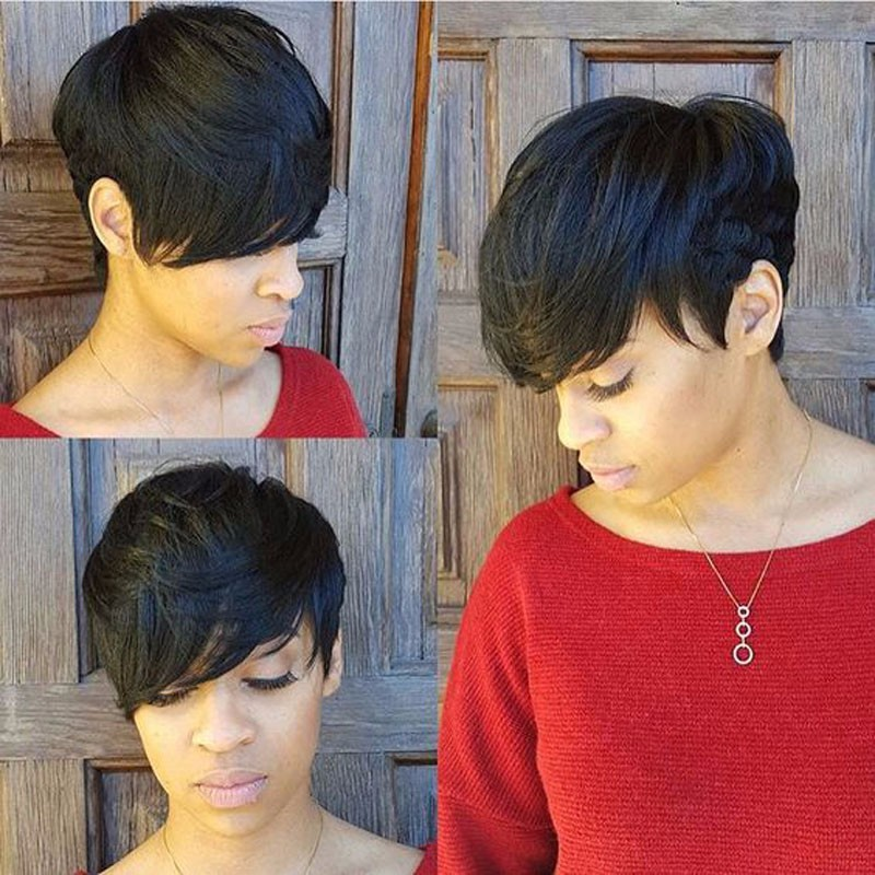 27 pieces short human in hair weave with free closure 27 piece 27 pieces short human in hair weave with free closure 27 piece bump weave 7a virgin brazilian hair short hair weave bundles on aliexpress alibaba urmus Gallery