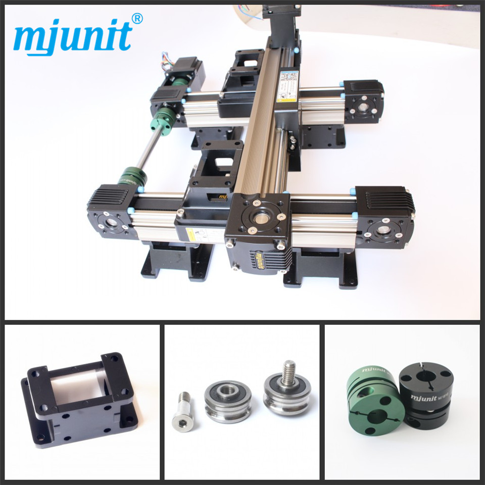 MJUNIT linear motion guide rail, linear guideway,linear rail by wholesale price ball linear rail guide roller shaft guideway toothed belt driven