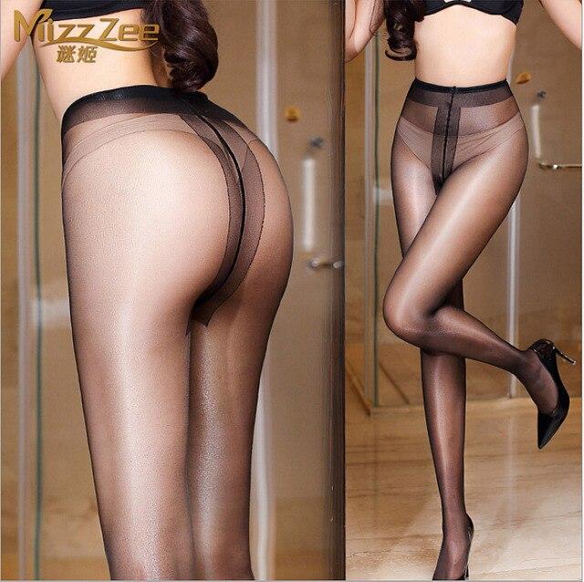 MIJI 15D Women's sexy oil Shiny BIKINI pantyhose, sexy Stockings hose,Leggings sexy lingerie female sexy invisible stocking0801