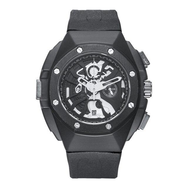 KIMSDUN יוקרה עסקי Mens שעונים Relogio אופנה קוורץ שעון גברים erkek kol saati עמיד למים זכר שעון Montre Homme