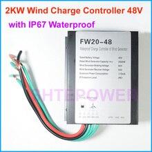 2 кВт 2000 Вт регулятор заряда ветрогенератора 48 в тип с IP67 водонепроницаемой функцией 1 кВт 1000 Вт