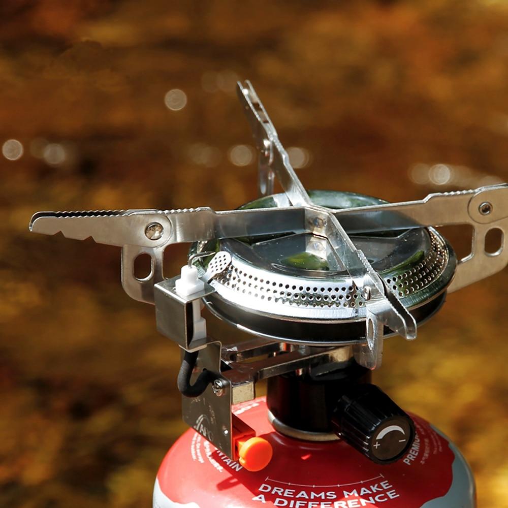 Vanjski grijači za piknike Sklopivi plinski štednjak i opremljeni - Kampiranje i planinarenje - Foto 6